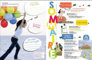 Sommaire de Filotéo juin-juillet 2015 - numéro 233