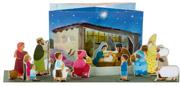 La crèche de Noël à monter