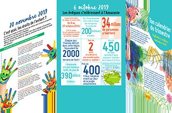 Rubrique Astrapi Soleil : Le calendrier du trimestre