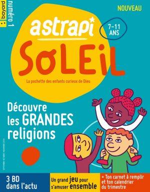 Couverture Astrapi Soleil n° 1 - septembre-octobre-novembre