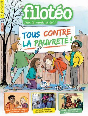 Couverture du n°255 de Filotéo, février-mars 2019