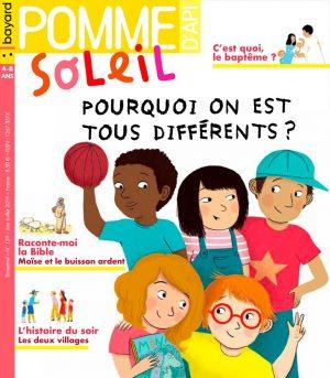 Couverture du magazine Pomme d'Api Soleil n°139, juin-juillet 2019