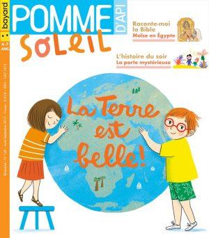 Couverture du magazine Pomme d'Api Soleil n°140, août-septembre