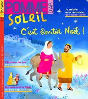 Couverture de Pomme d'Api Soleil n°142, décembre 2019-janvier 2020