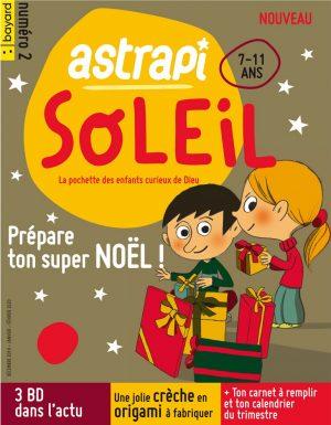 Couverture du magazine Astrapi Soleil n°2, décembre 2019 - janvier et février 2020