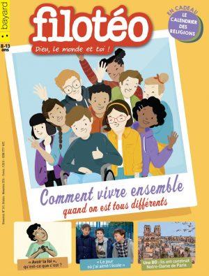 Couverture de Filotéo n°241, octobre-novembre 2016