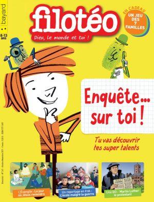 Couverture de Filotéo n°247, octobre-novembre 2017