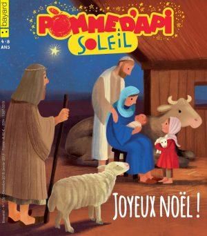 Couverture de Pomme d'Api Soleil n°136, décembre 2018 - janvier 2019