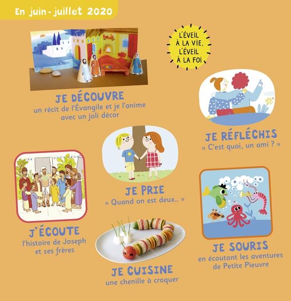 Sommaire de Pomme d'Api Soleil n°145, juin-juillet 2020