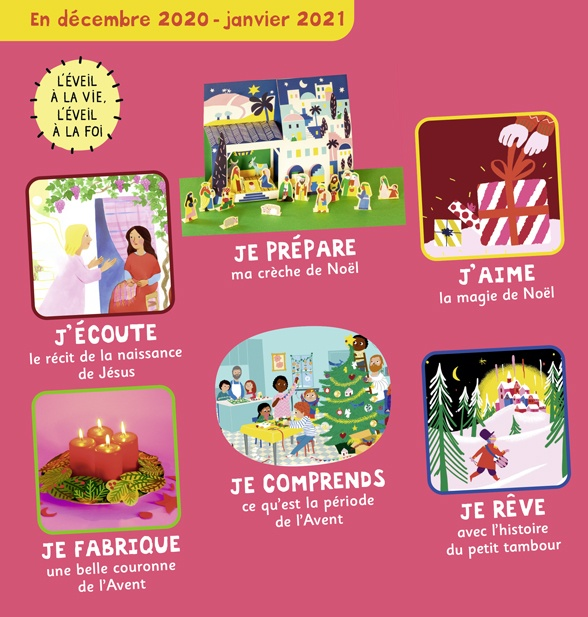Sommaire de Pomme d'Api Soleil n°148, décembre 2020-janvier 2021