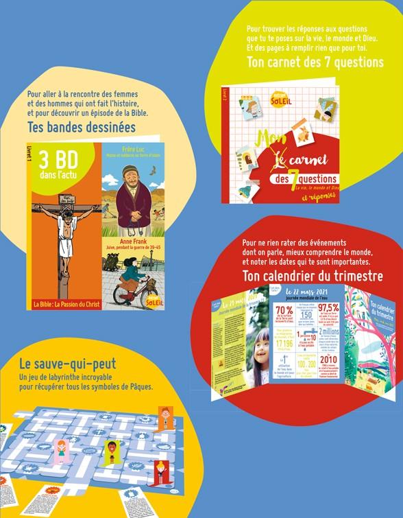 Sommaire du magazine Astrapi Soleil n°7, mars-mai 2021
