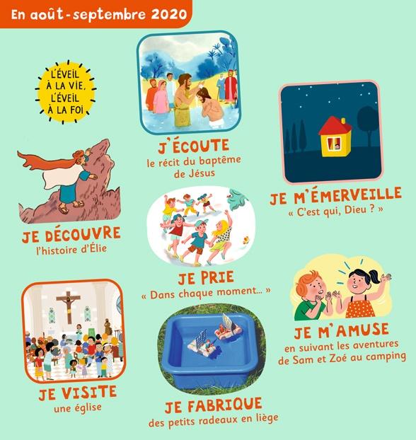 Sommaire de Pomme d'Api Soleil n°146, août-septembre 2020