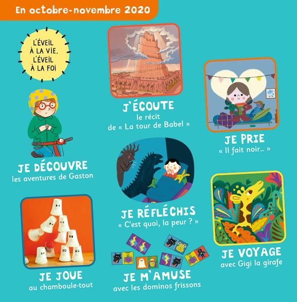 Sommaire de Pomme d'Api Soleil n°147, octobre-novembre 2020