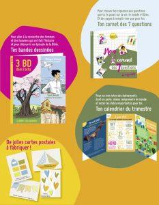 Sommaire du magazine Astrapi Soleil n°8, juin-aout 2021